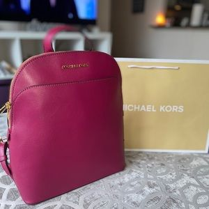 💕 Micheal Kors Emmy Large Dome Top Backpack 💕